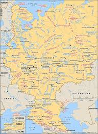 russia map russia geography history map facts britannica