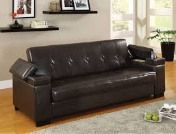 enrico sofa bed with storage u0026 cup holder futons