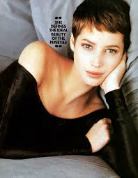 christy turlington u0027s 1990s pixie very pretty and gamine