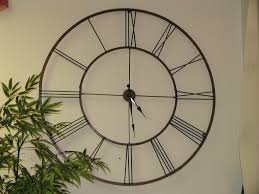 home design large outdoor clock patio clocks wall in for walls