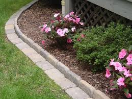 coolest flower bed edging pavers 73 in with flower bed edging