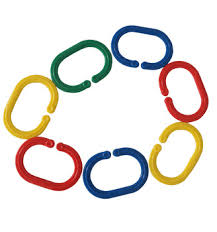 plastic rings large images Kids promotional toy nice craft chain large size plastic jpg