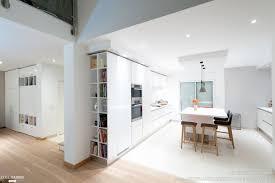 cuisine design italienne pas cher meuble de cuisine laque blanc brillant inspirant projet cuisine