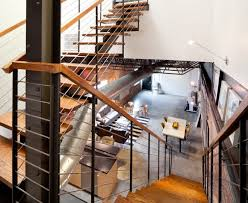 Metal Landing Banister And Railing Beautiful Stair Railing Mode Minneapolis Traditional Staircase