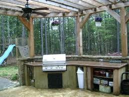Rustic Outdoor Kitchen Ideas Rustic Outdoor Kitchen Ladyroom Club