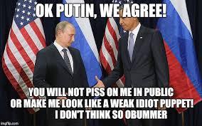 Obama Putin Meme - putin obama handshake meme generator imgflip