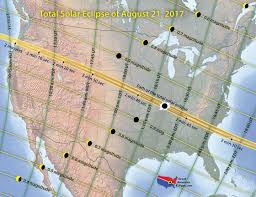 can you me a map of the united states when where to see the solar eclipse of august 21 2017 solar