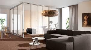 loft room divider contemporary living room toronto by