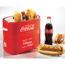 nostalgia hdt600coke coca cola pop up dog toaster walmart com