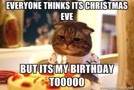 for my girl with the christmas eve birthday sooo true