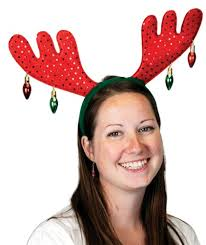 christmas headbands christmas antler headband caufields