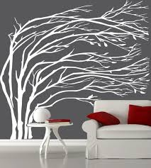 tree wall decals for every room in your house wedgelog design image of white tree wall decals