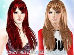 hair color to download for sims 3 95 best sims 3 cc images on pinterest sims hair sims cc and game