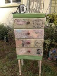 Shabby Chic Lingerie Chest by Sold Shabby Chic Vintage Painted Luggage With French Stencil Theme
