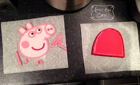peppa pig cake little hill cakes