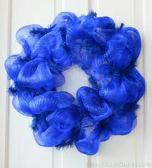white deco mesh party ideas by mardi gras outlet patriotic wreath tutorial with