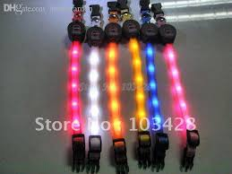 dog collar lights waterproof 2018 wholesale with track number flashing pet collar light up dog
