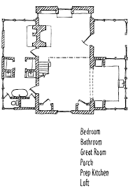 Gothic Church Floor Plan by Rural Cottage With Character Southern Living