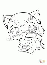 littlest pet shop coloring pages preschoolers 38503