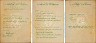 hogwarts acceptance letter by littlefallingstar on deviantart