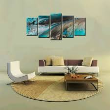 framed canvas print art abstract oil painting wall canvas art home