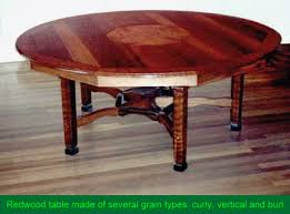 Redwood Dining Table Table Top Stock And Leg Stock From Old Growth Redwood Lumber