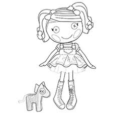 coloring pages spot lalaloopsy coloring pages free printables momjunction