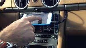 porsche pcm 2 1 iphone interface fm modulator on porsche cayman