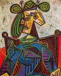 What Is A Armchair Pablo Picasso The Portraits Picasso Armchairs And Bright Colours