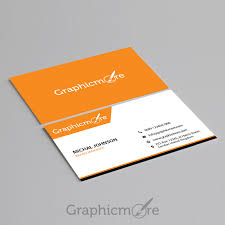 business card template design free psd file
