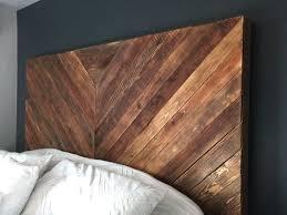 Reclaimed Wood Headboard by Best 20 Chevron Headboard Ideas On Pinterest Wood Headboard