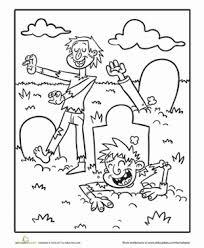 zombie worksheet education