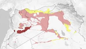 Iraq World Map by Isis U0027 Territory Shrank In Syria And Iraq This Year The New York