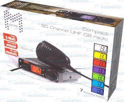crystal db477a radio 80 channel 5 watt uhf two way cb 6db u0026 3db