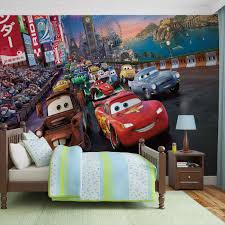 Cars Wall Mural by Disney Cars Lightning Mcqueen Mater Wall Paper Mural Buy At