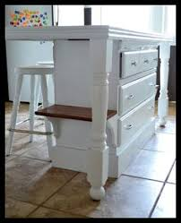 Small Kitchen Island With Stools by Old Base Cabinets Repurposed To Kitchen Island Base Cabinets