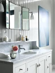 retractable mirror bathroom chic bathroom with folding mirror and
