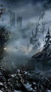 future disasters abandoned world city sci fi art 199033
