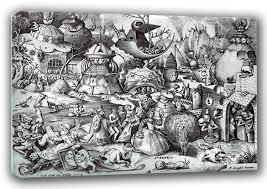 the seven deadly sins bruegel the elder pieter pride the seven deadly sins fine art