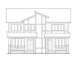 Zero Lot Line House Plans by Trico Homes