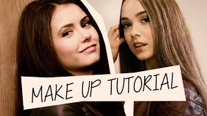 vampire diaries makeup tutorial inspired by elena youtube