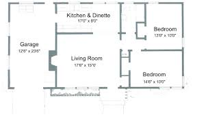 1 Bedroom Cottage Floor Plans by Chic Inspiration 2 Bedroom House Plans Fresh Ideas 1 Bedroom
