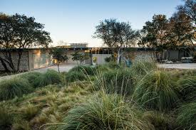 xeriscape for a midcentury landscape with a hill country and mid