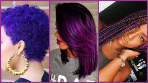 purple hair archives black hair information