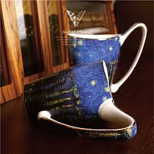 Famous Coffee Mugs Online Buy Wholesale Painting Porcelain Mugs From China Painting
