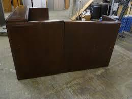 Cherry Wood Desk Portland State Surplus Cherry Wood Executive Style L Shaped