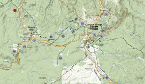 Glacier Park Map Gps Tracks For Glacier National Park