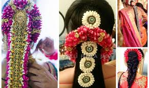 indian bridal hairstyle south indian bridal hairstyle pelli poola jada