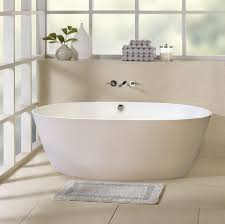 Kohler Freestanding Tub Faucet Swish Frosted Glass Bathroom Windows With White Soaking Slipper