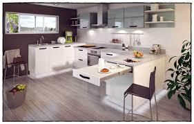 cuisine avec table meuble cuisine table inspirations avec de galerie avec meuble de